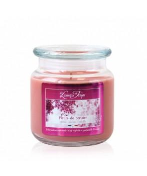Bougie colorée Fleur de cerisier