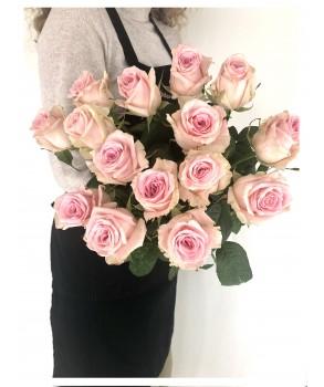 Bouquet de roses roses 70 CM